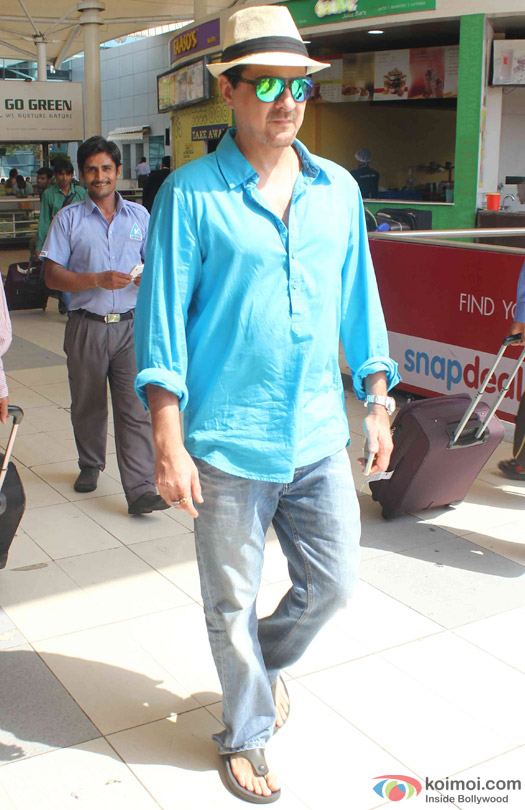 Sanjay Kapoor Spotted At Domestic Airport
