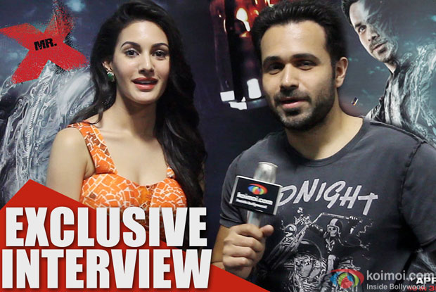 Exclusive Interview:Amyra Dastur and Emraan Hashmi Talk About Mr X