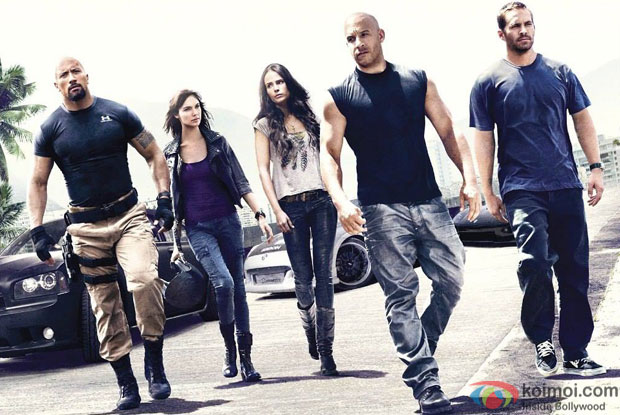 A still from movie 'Fast & Furious 7'