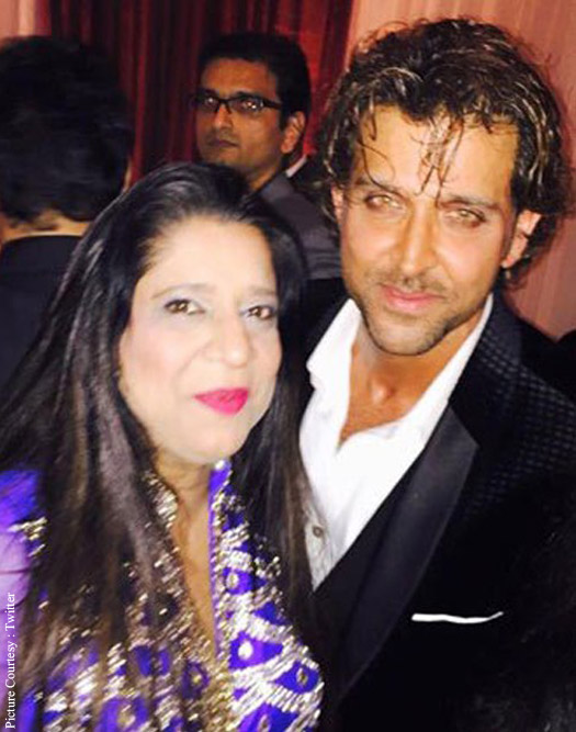 Kunal Kapoor's Wedding Reception : Hrithik Roshan