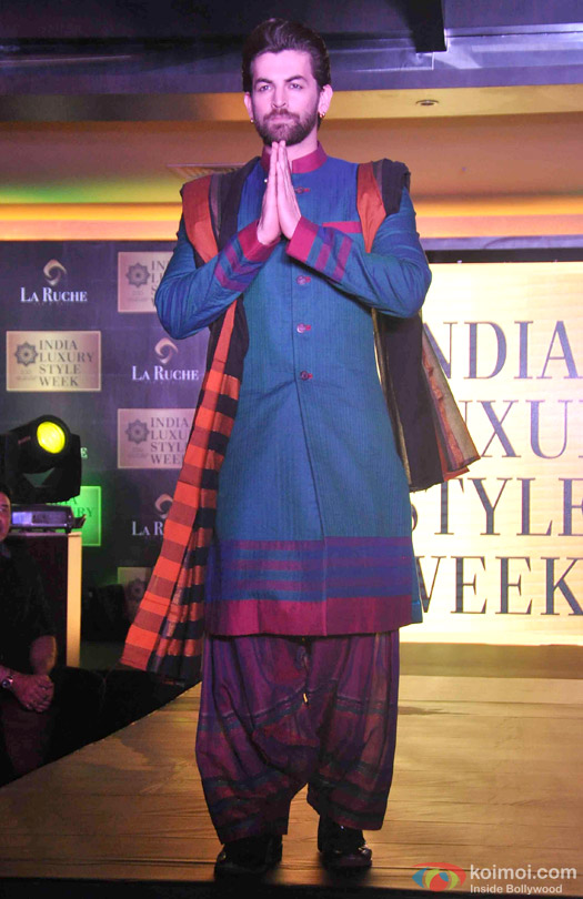 Neil Nitin Mukesh at the launch of India Luxury Style Week 2015