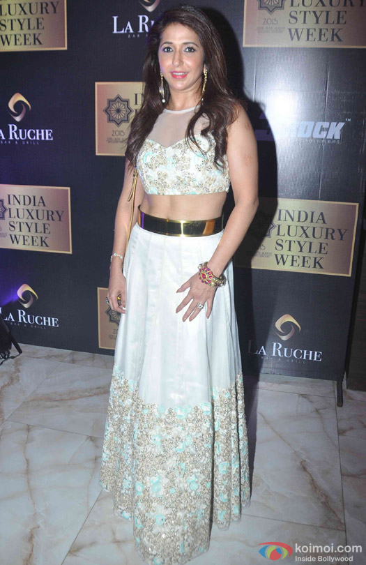 Krishika Lulla at the launch of India Luxury Style Week 2015