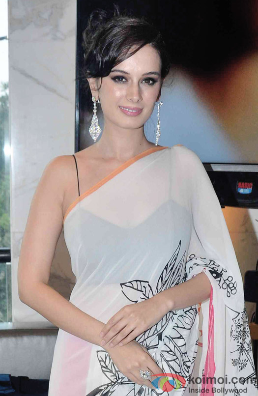 Evelyn Sharma During The Launch Of Karan Johar's Limited Edition Holiday Line For Gehna Jewellers