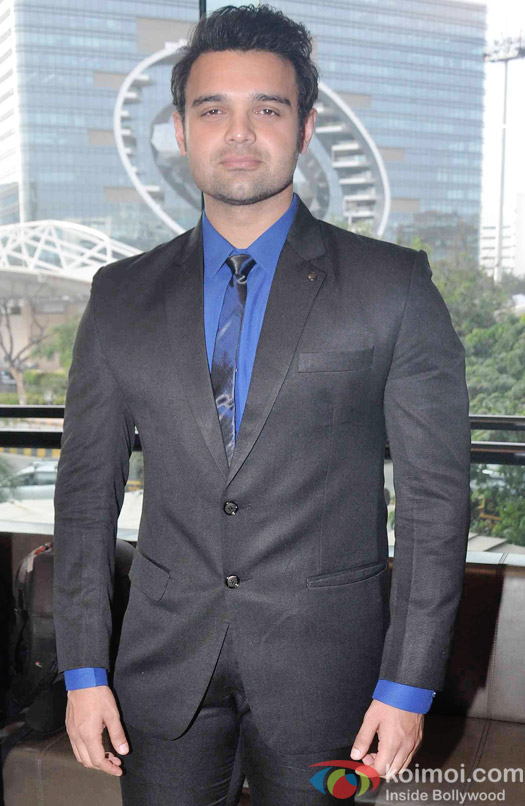 Mahaakshay Chakraborty During The Launch Of Karan Johar's Limited Edition Holiday Line For Gehna Jewellers