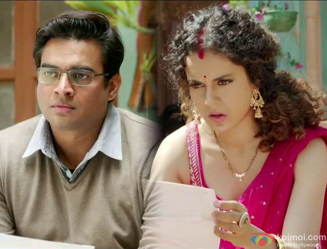 R. Madhavan and Kangana Ranaut in a 'Move On' song still from movie 'Tanu Weds Manu Returns'