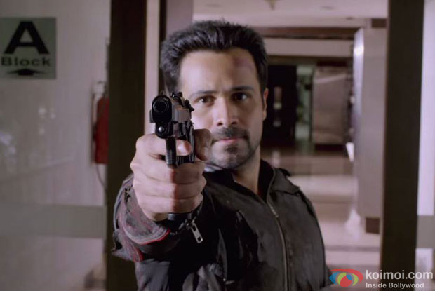 Emraan Hashmi in a still from movie 'Mr. X'