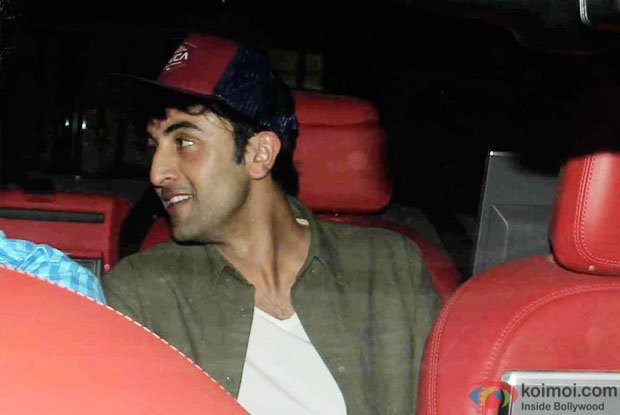 Ranbir Kapoor attended the birthday bash of Aarti Shetty
