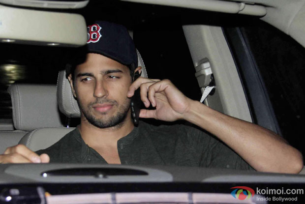 Sidharth Malhotra attended the birthday bash of Aarti Shetty