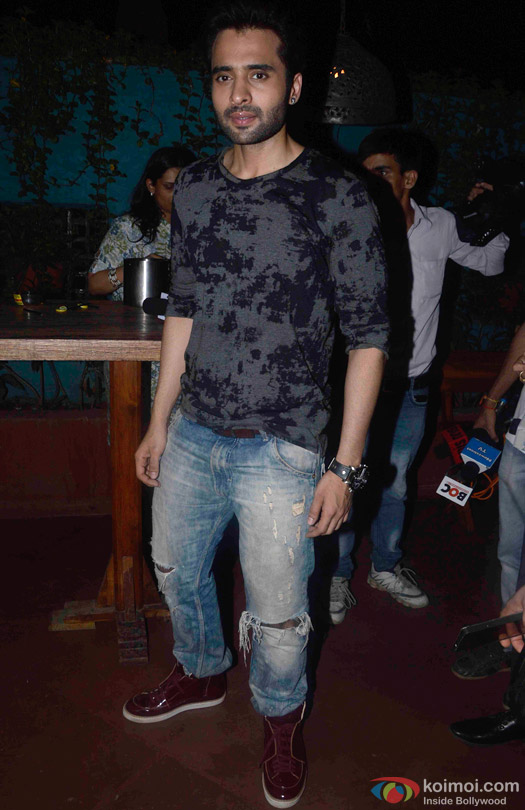 Jackky Bhagnani during the promotion of movie 'Welcome To Karachi'