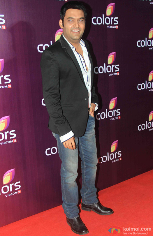 Kapil Sharma during the red carpet of Colors Party 2015
