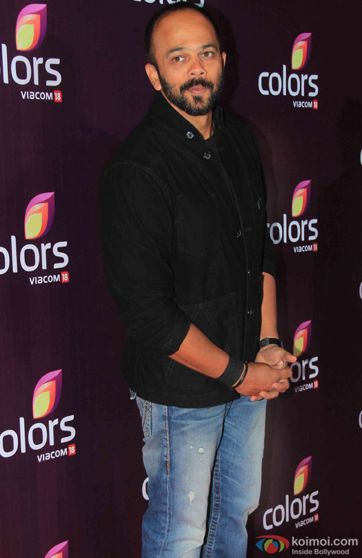 Rohit Shetty during the red carpet of Colors Party 2015