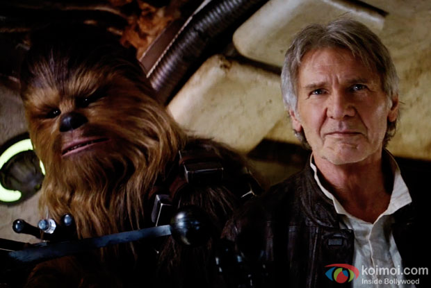 A still from movie 'Star Wars: The Force Awakens'