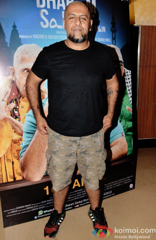 Vishal Dadlani at the special screening of Dharam Sankat  Mein