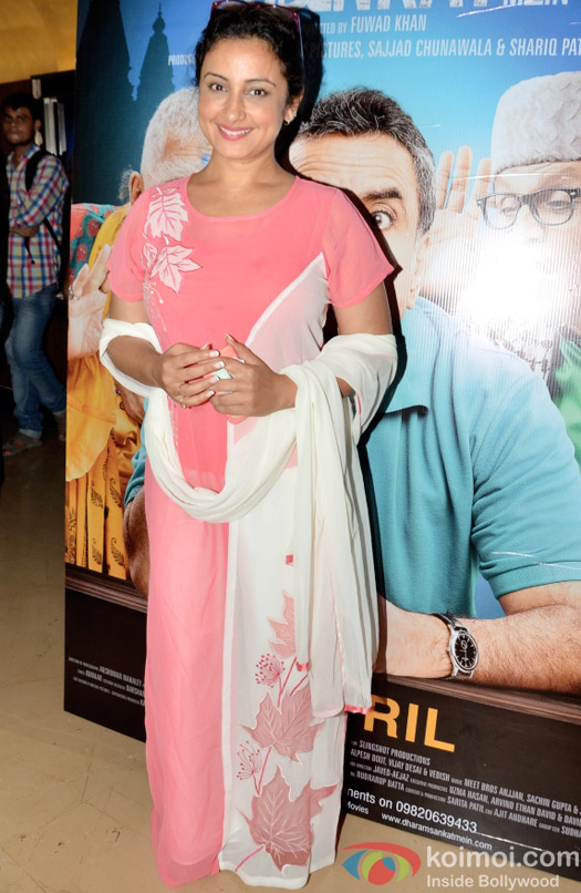 Divya Dutta at the special screening of Dharam Sankat  Mein