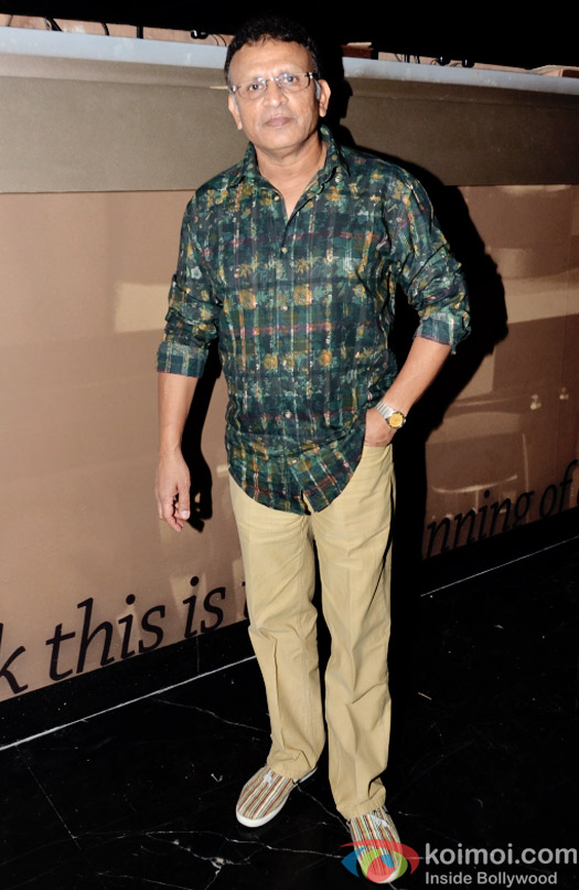 Annu Kapoor at the special screening of Dharam Sankat  Mein