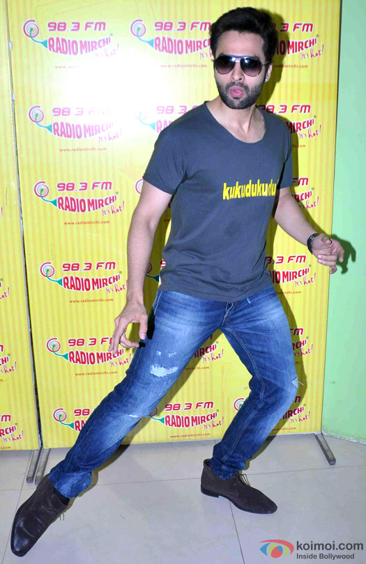 Jackky Bhagnani during the promotion of movie 'Welcome To Karachi' at Radio Mirchi