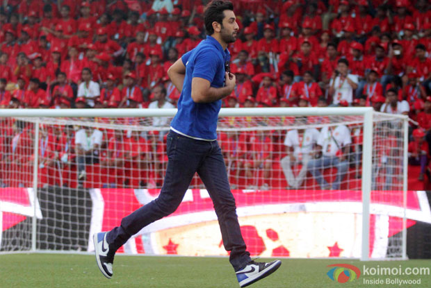 Ranbir Kapoor during the inauguration of JIO Garden