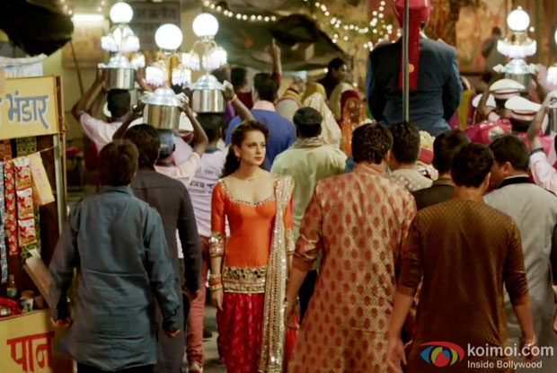 Kangna Ranaut In A Still From Movie Tanu Weds Manu Returns