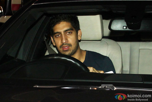 Ayan Mukerji spotted at Ranbir Kapoor's house