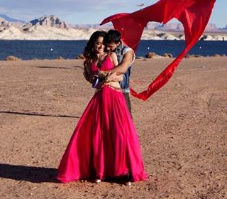 Shraddha Kapoor and Varun Dhawan in a 'Chunar' song still from movie 'ABCD - Any Body Can Dance - 2'