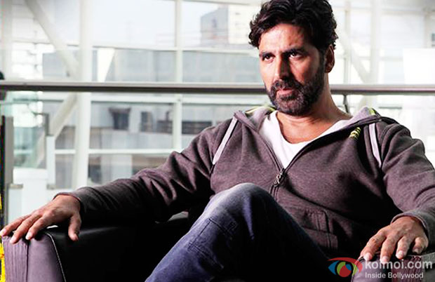 Akshay Kumar in a still from movie 'Gabbar Is Back'