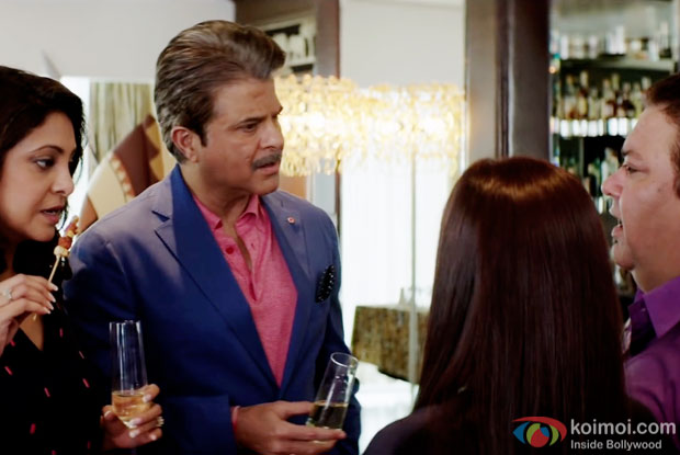 Shefali Shah and Anil Kapoor in a still from movie 'Dil Dhadakne Do'