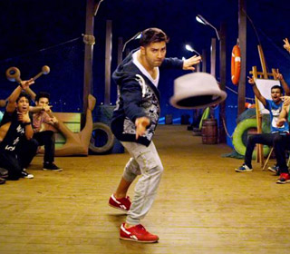 Varun Dhawan in a 'Naach Meri Jaan' song still from movie 'ABCD - Any Body Can Dance - 2'