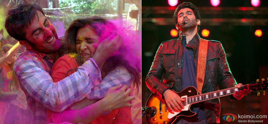 A still from movie 'Yeh Jawaani Hai Deewani' and 'Aashiqui 2'