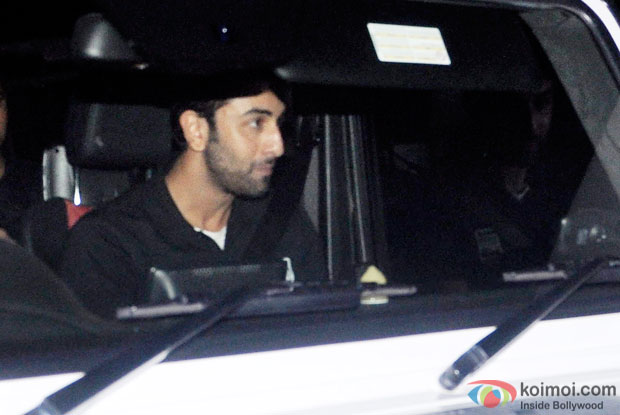 Ranbir Kapoor Snapped At Lightbox