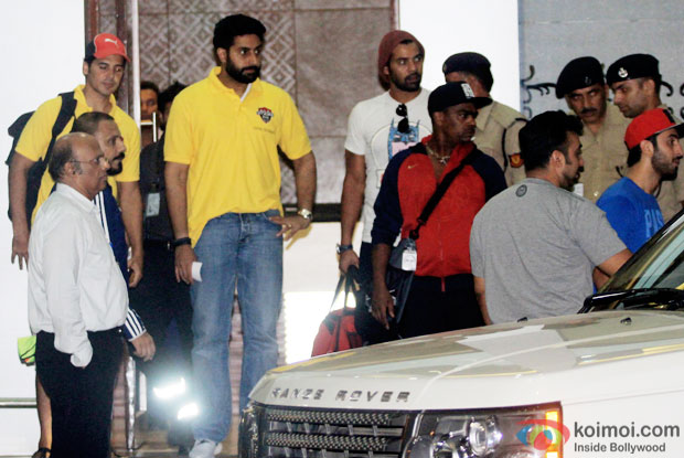 Abhishek Bachchan Spotted At Airport