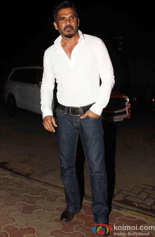 Sunil Shetty during the Mukesh Chhabra's Bday Bash