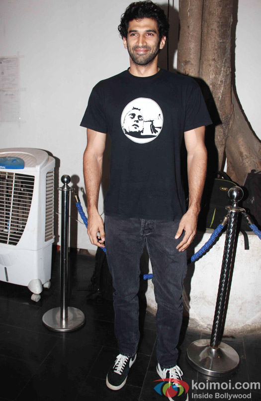Aditya Roy Kapur during the Mukesh Chhabra's Bday Bash