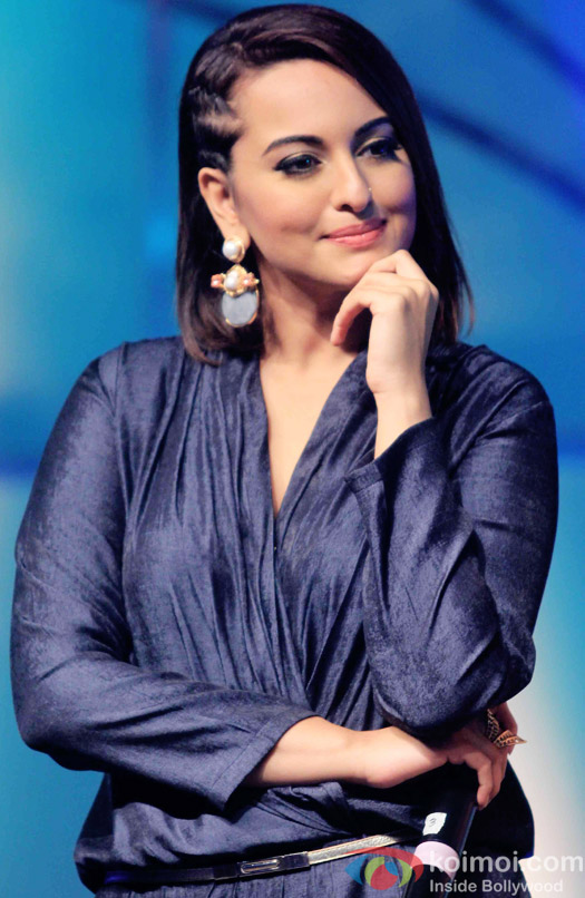 Sonakshi Sinha during the press conference of reality show Indian Idol Junior