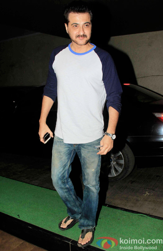 Sanjay Kapoor during the special screening of Dil Dhadhakne Do at Lightbox