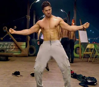 Varun Dhawan in a 'Tattoo' song still from movie 'ABCD - Any Body Can Dance - 2'