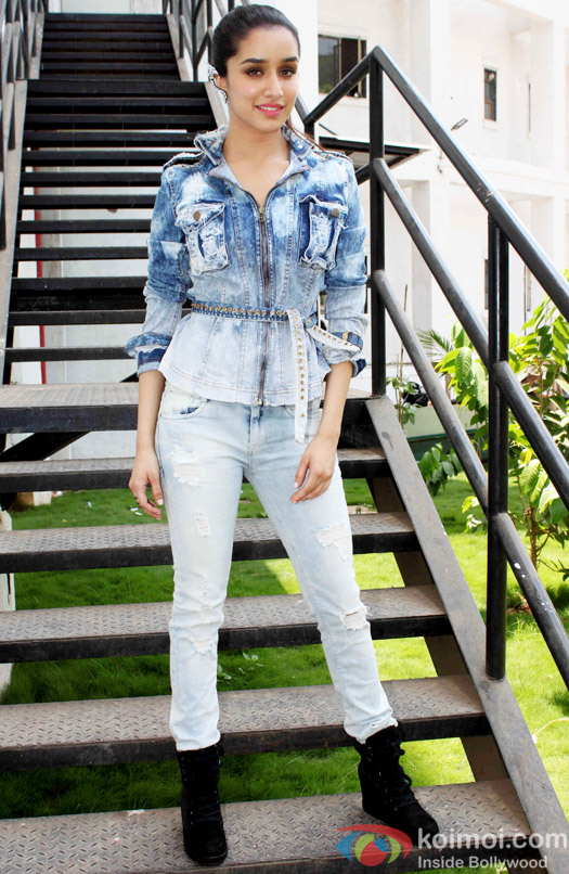 Shraddha Kapoor During The Promotion Of ABCD