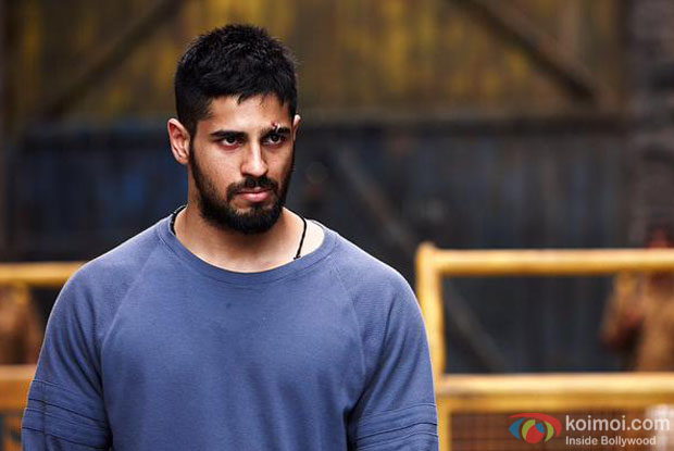 Sidharth Malhotra in a still from movie 'Brothers'