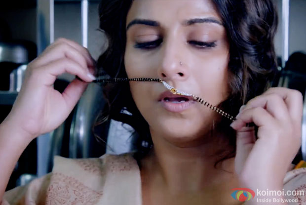Vidya Balan in a still from movie 'Hamari Adhuri Kahani'