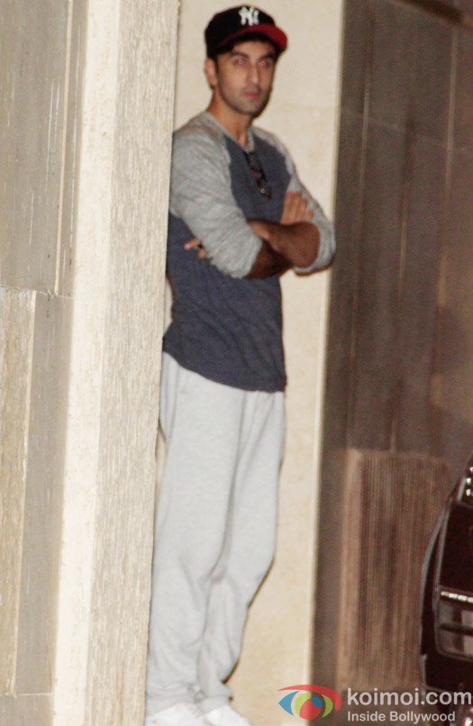 Ranbir Kapoor spotted at Bandra