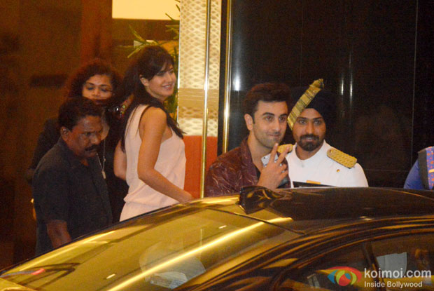 Katrina Kaif and Ranbir Kapoor Snapped At Arjun Kapoor's Birthday Bash