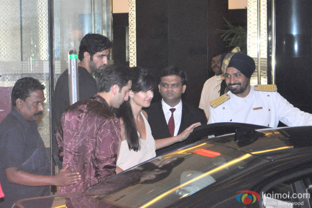 Ranbir Kapoor and Katrina Kaif Snapped At Arjun Kapoor's Birthday Bash