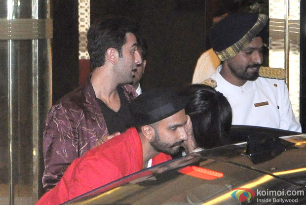 Ranbir Kapoor, Ranveer Singh and Katrina Kaif Snapped At Arjun Kapoor's Birthday Bash