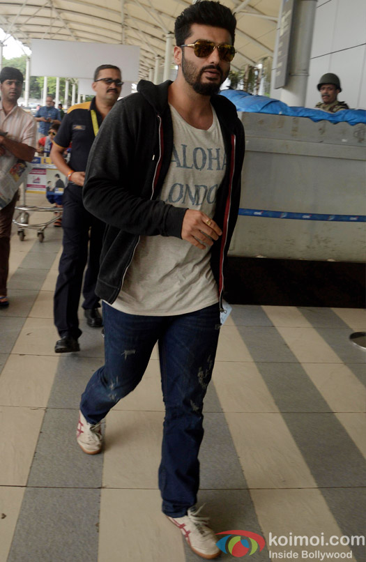Arjun Kapoor Spotted At Airport