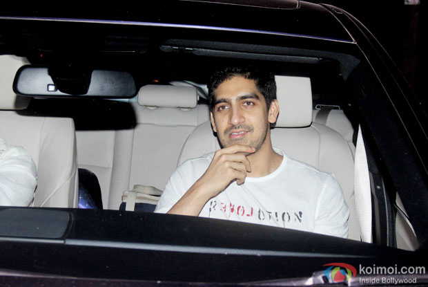 Ayan Mukerji spotted at 'Dil Dhadakne Do' screening