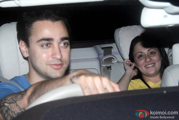 Imran Khan and Avantika Malik Khan spotted at 'Dil Dhadakne Do' screening