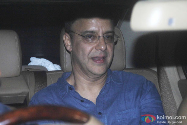 Vidhu Vinod Chopra spotted at 'Dil Dhadakne Do' screening