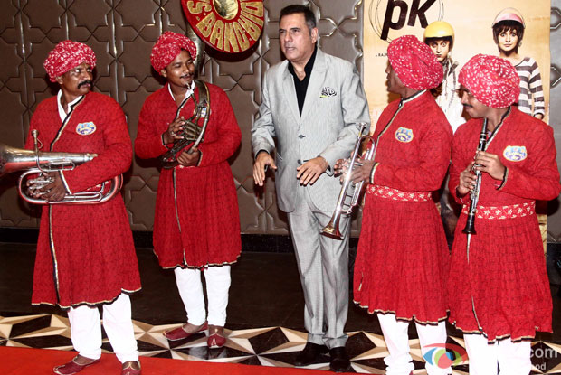 Boman Irani during the success party of movie 'PK'