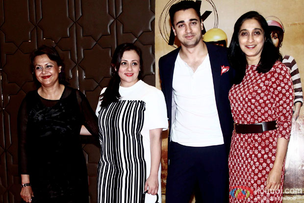 Avantika Malik Khan and Imran Khan during the success party of movie 'PK'