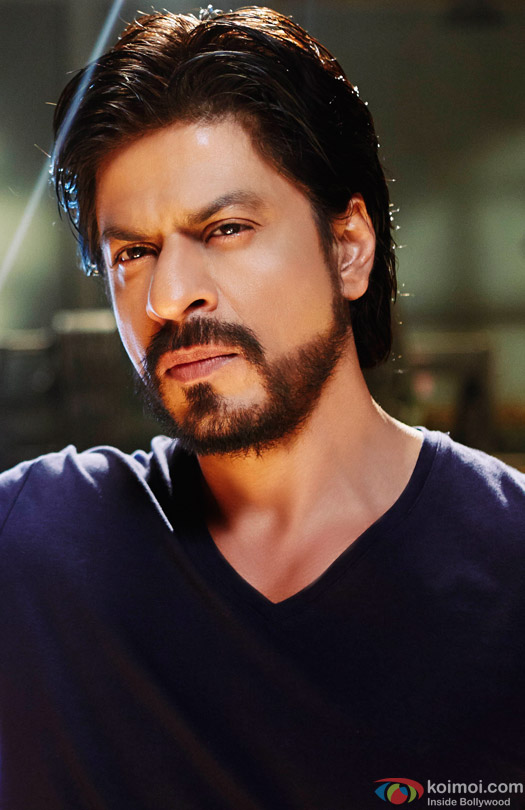 Shah Rukh Khan in a beard look still from movie 'Happy New Year (2014)'