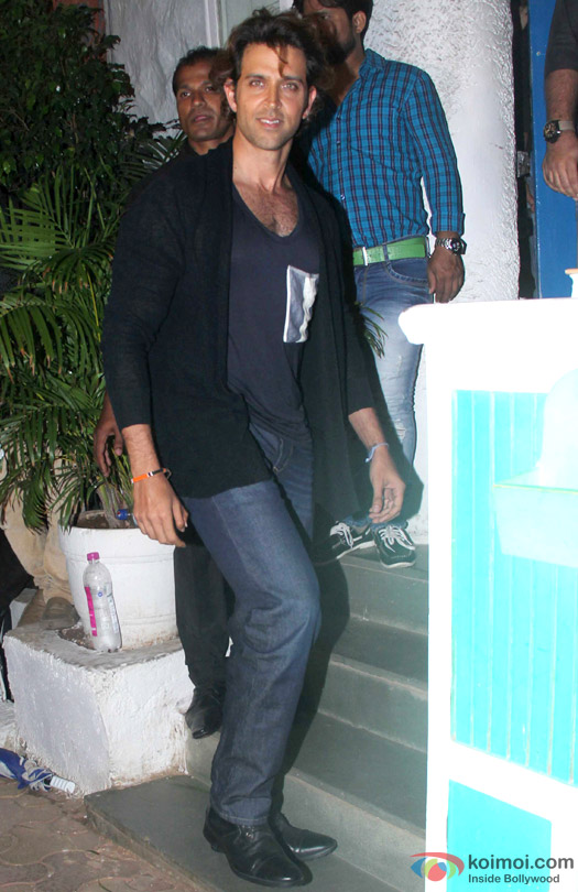 Hrithik Roshan during the 'ABCD 2′ Success Bash